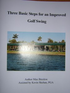 The Beginners Golf Manual Booklet